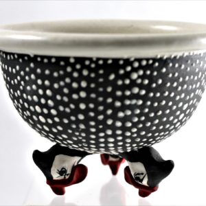 Spotted Tripod Bowl_Small_2020
