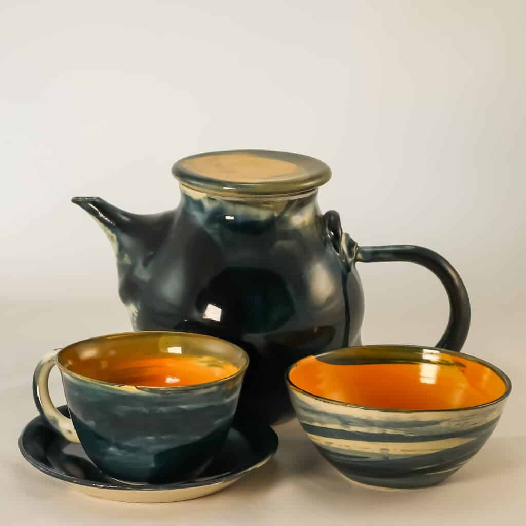 Ember teapot collection